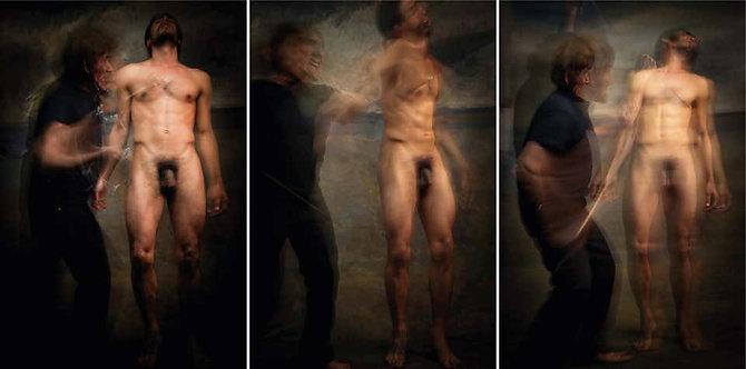 Untitled X, XI and IX, Triptych, Half Angels Half Demons, 2010