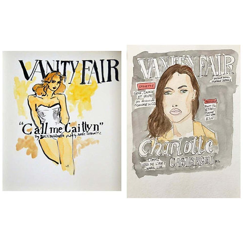 Vanity Fair Call Me Caitlyn Cover, and Charlotte Casiraghi in Vanity Fair, 2016