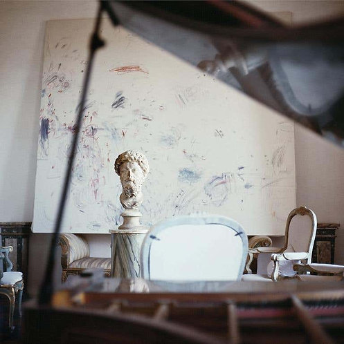 Cy Twombly in Rome - 1966, Untitled #14, 1966 (Small size)