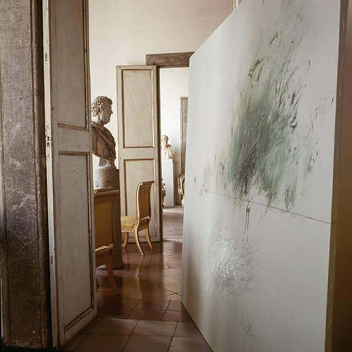Cy Twombly in Rome - 1966, Untitled #13, 1966 (Xlarge size: Mounted on Aluminum)