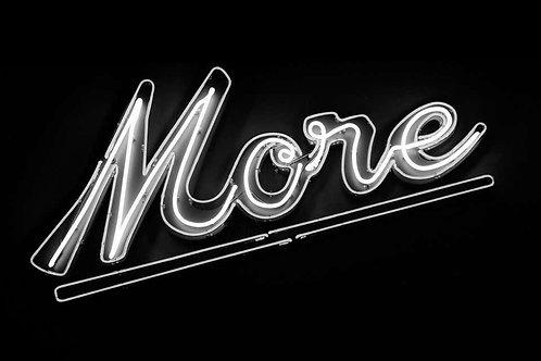 More, 2016 (B&W)