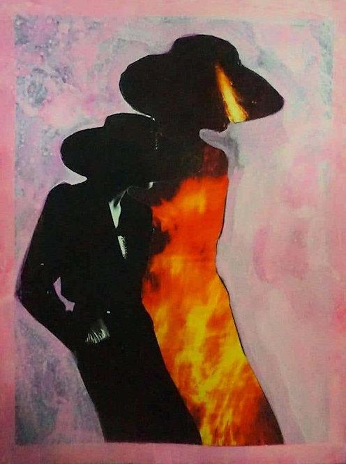 Burning Woman #2250, 2018