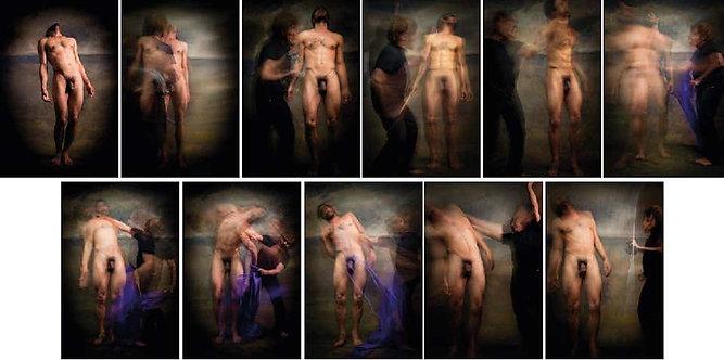 Untitled Polyptych, Half Angels Half Demons, 2010