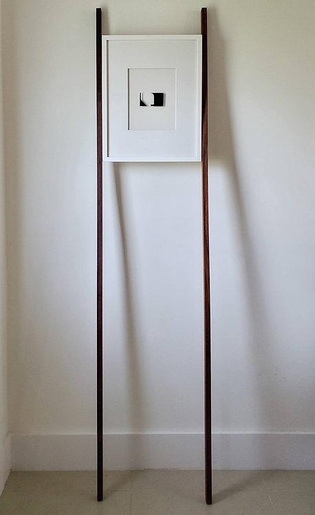 Imprints / I Am Yourself: Hall. Art wall installation