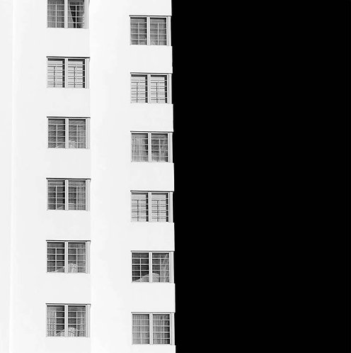 Miami Abstractions 2, 2016 (B&W)
