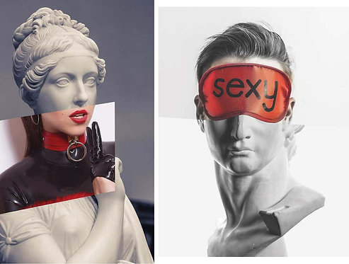 Minnie and David The Sexy_Diptych_from The Series of Arte Erotica_2018_Alen Opsar