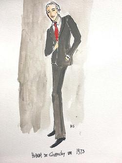 Hubert de Givenchy in 1973, 2019