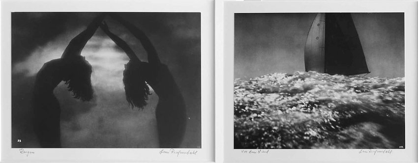 Diptych: Reigen (Roundelay) and or Dau Wind/Vor Dem Wind, 1936