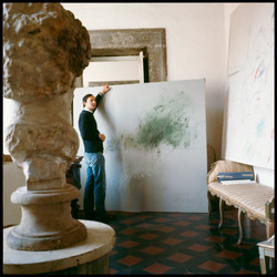 Cy Twombly in Rome 1966 - Untitled #30