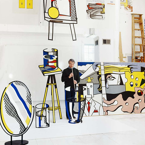 Roy Lichtenstein, New York, (Lichtenstein Studio, Southampton), 1977
