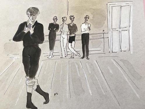 Nureyev rehearsing t Covent Garden in 1961, 2019