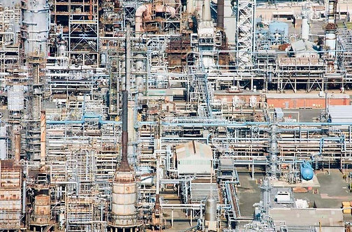 Refinery_Small Archival Pigment Print on Heavyweight Cotton Rag Paper_2015_Jill Peters