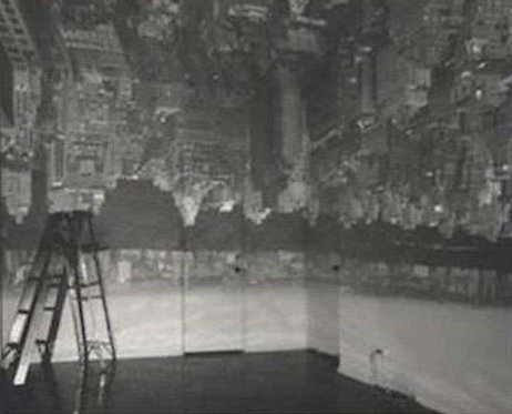 Camera Obscura Image of Manhattan View Looking West in Empty Room, 1996
