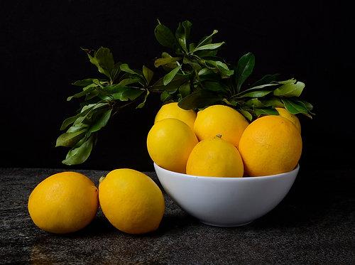Lemons I. From the bodegon series