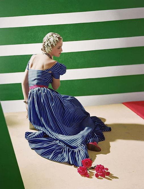 Fashion in Colour - Dress by Hattie Carnegie, 1939 (Small size)