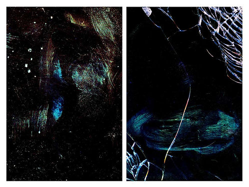 Untitled 13 and Untitled 14 (Diptych), 2014