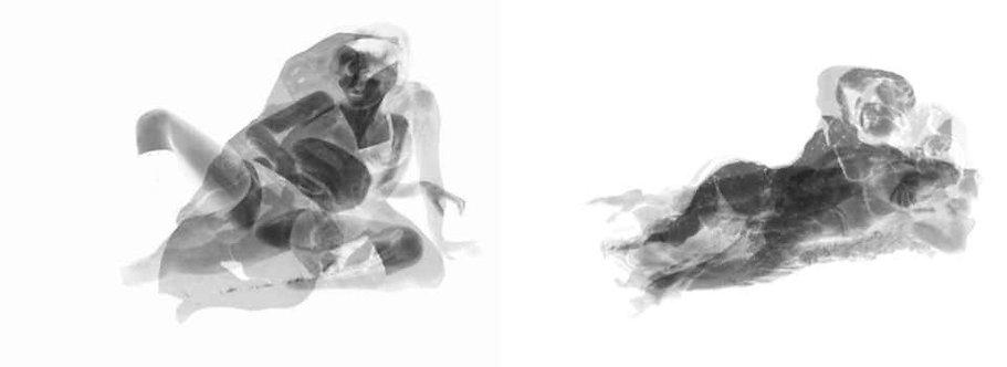 Div-Ine VIII, and Div-Ine IV, Set, 2020 (B&;W)