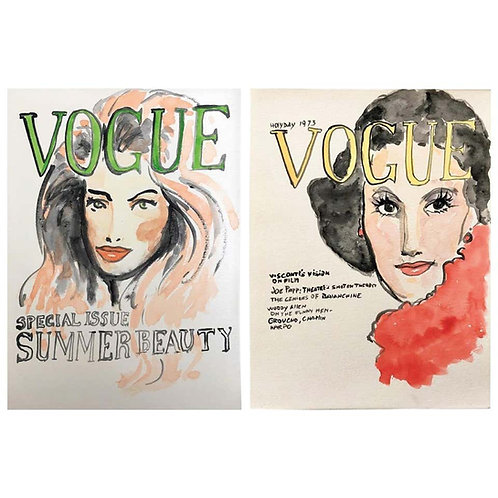 Vogue, Set of Two, 2016