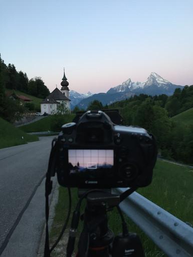 Sunrise @Maria Gern Berchtesgaden