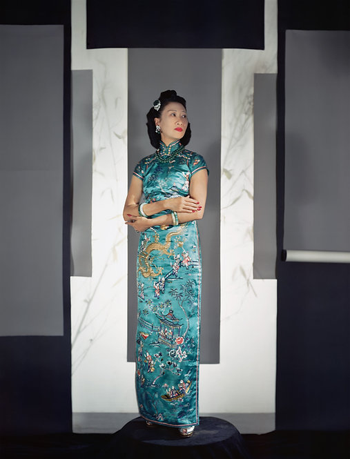 Fashion in Colour - Madame Wellington Koo, NYC, 1943