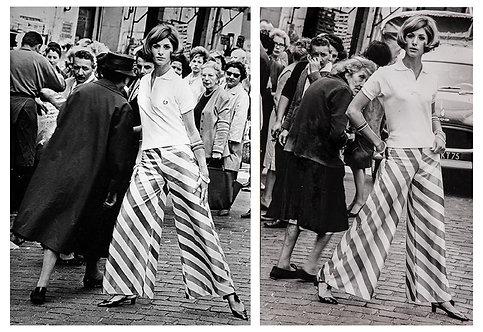 Rue Mouffetard - Diptych, 1964