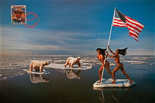 Alaska, From the Mani- Cartes Postales series, 1993