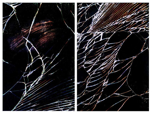 Untitled 12 and Untitled 18 (Diptych), 2014