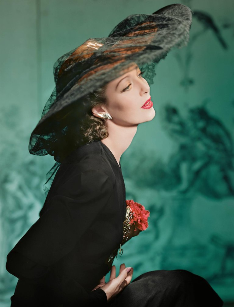 Loretta Young, New York