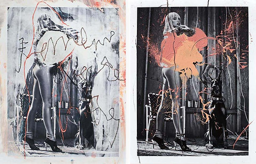 Diptych: Looking at Arcadia and Leto's Daughter, 2019