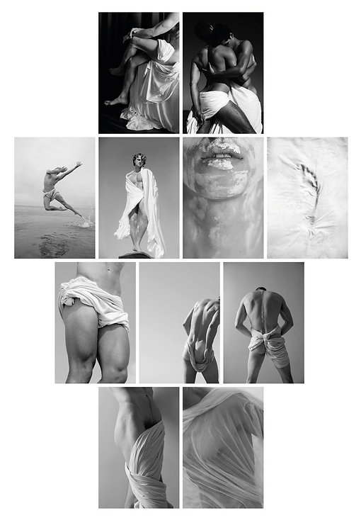 Set from the series Blanco, 2017 - 2018 (B&W) Ricky Cohete