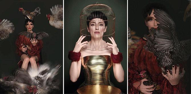 Mnemosyne Series, Triptych 2018_Lisa Palomino
