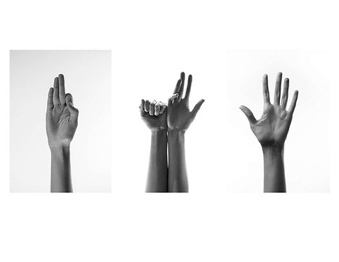 Untitled II, I and III (Triptych), 2017