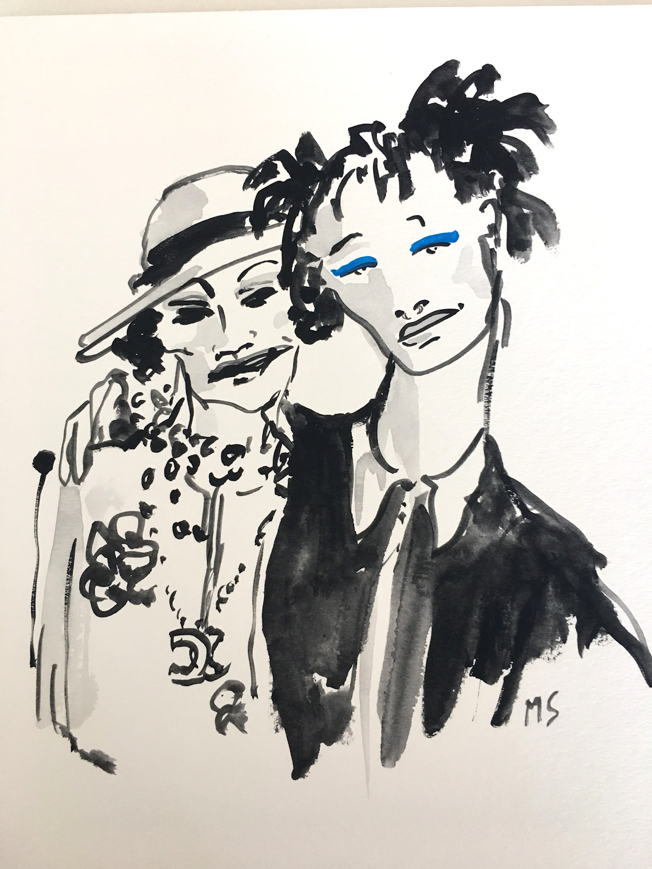 Coco Chanel and Willow Smith