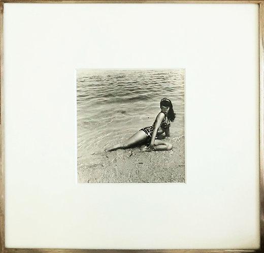 Bettie Page, Miami Beach, Florida, 1954