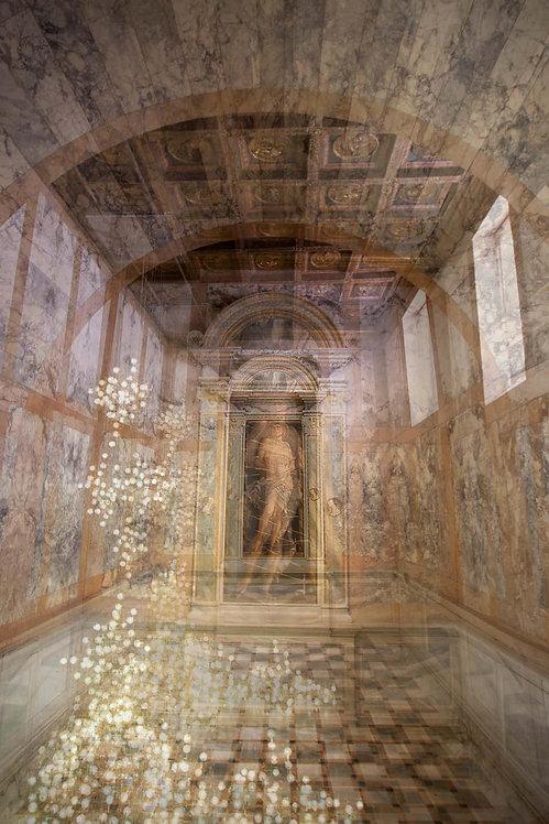 Statue Room, San Sebastian Ca' D'oro at Villa Borghese Venezia, 2016