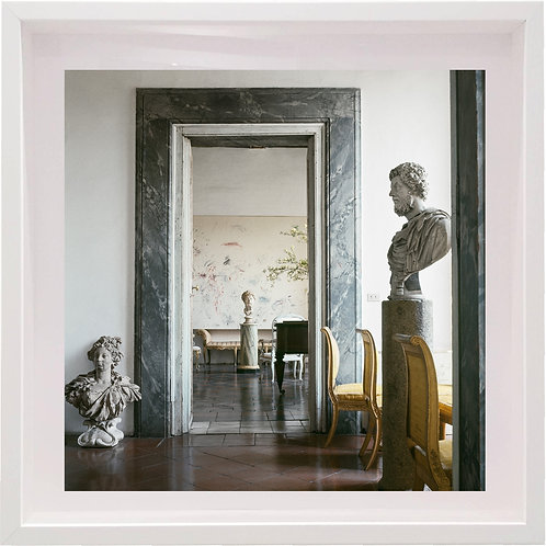 Cy Twombly in Rome 1966 - Untitled #23, 1966 (Aluminium Mounted)