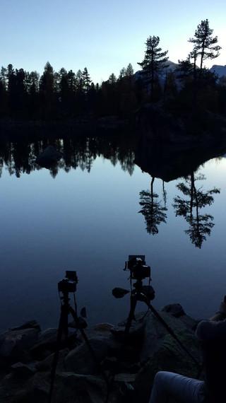 Busy spot at Lago Saoseo