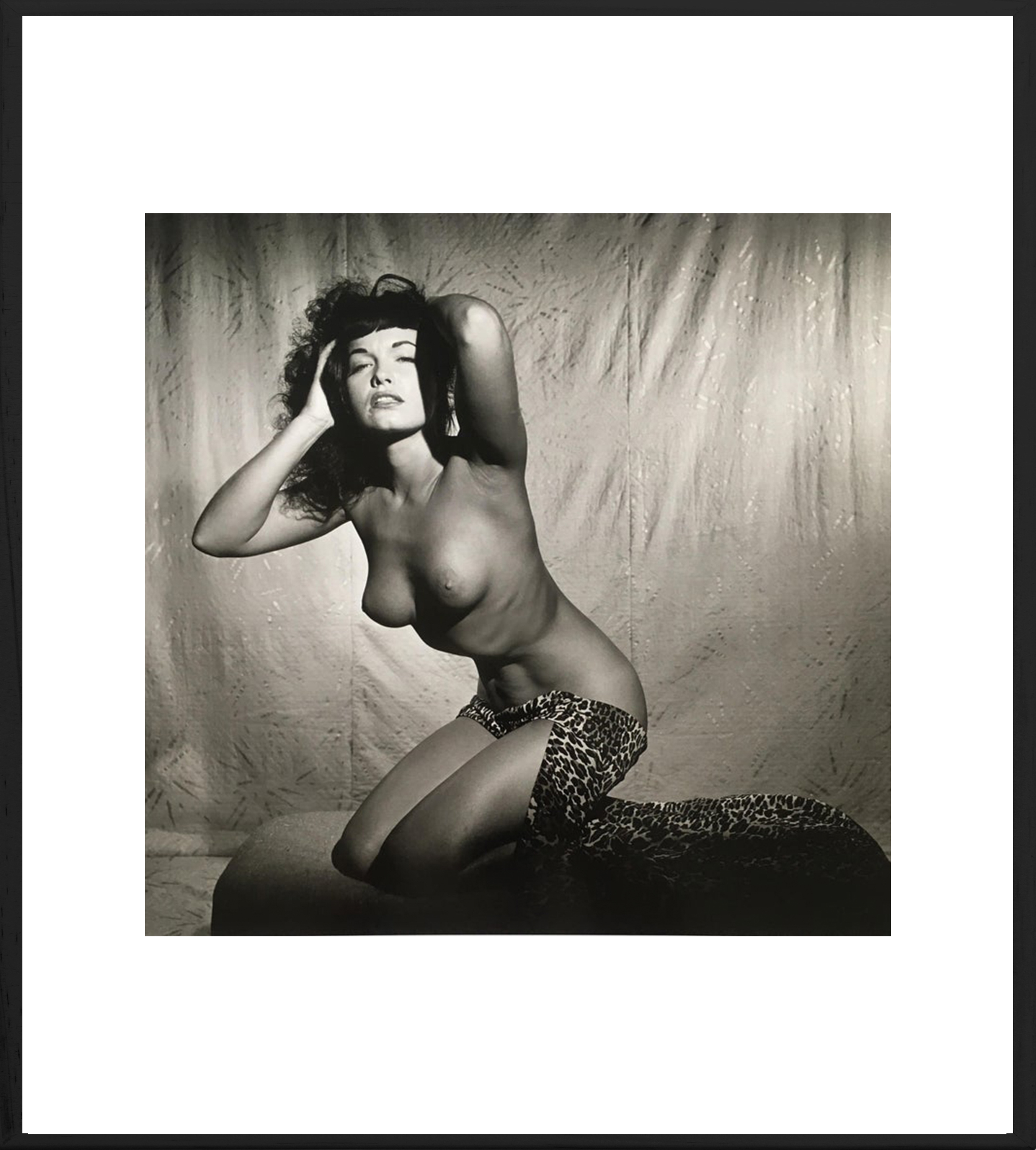 Bettie Page Topless in Studio, 195