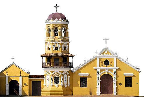 Iglesia de Santa Bárbara - Mompox, 2017