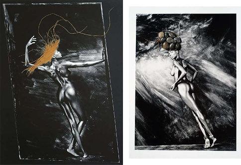 Femmes Objets I, and II, Set, 1991