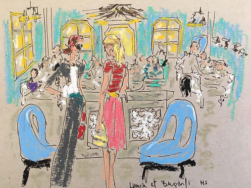 Lunch at Bergdorf's, 2018