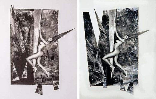 Climbing I, and II, Set, Paris, 1991