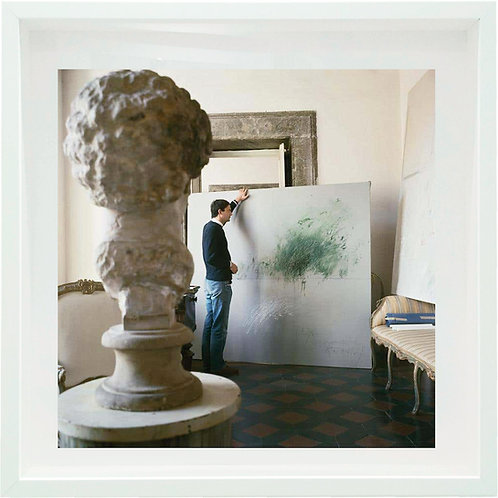 Cy Twombly in Rome 1966 - Untitled #30, 1966 Framed