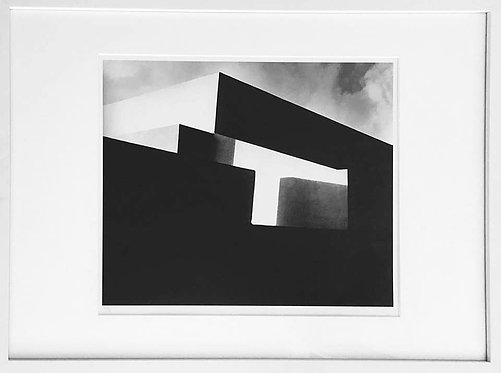 Staring into Space, Mondrian (Framed), 1963 (B&W)
