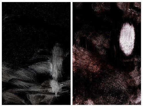 Untitled 5 and Untitled 11 (Diptych), 2014