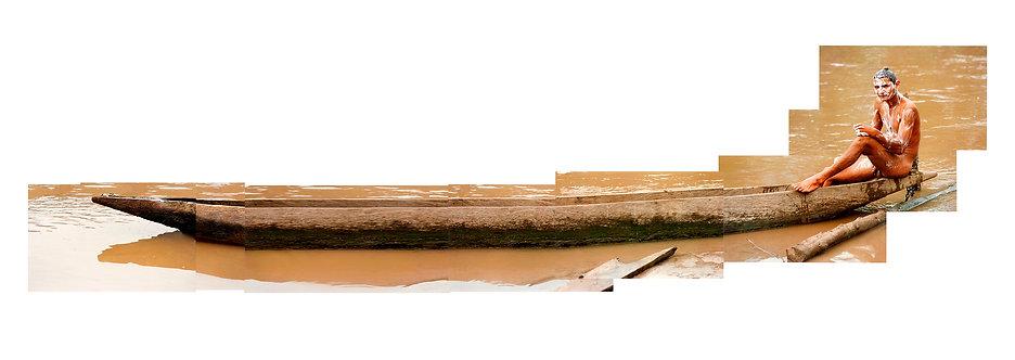 Man in Canoe, 2001