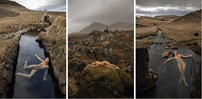 """Triptych I from the series """"Marise Nature"""""""