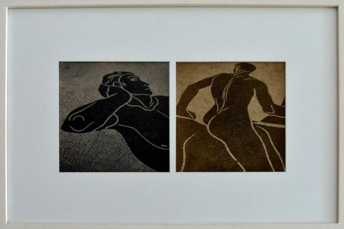 """Paul Melesching """"Greek Mosaics"""""""