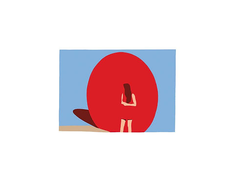 Red Ball, 2018 (Small Print)