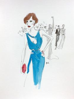 The Danish Girl in Atelier Versace